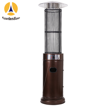 Elegance Stainless Steel Patio Heater With Base 460 X85 5mm H