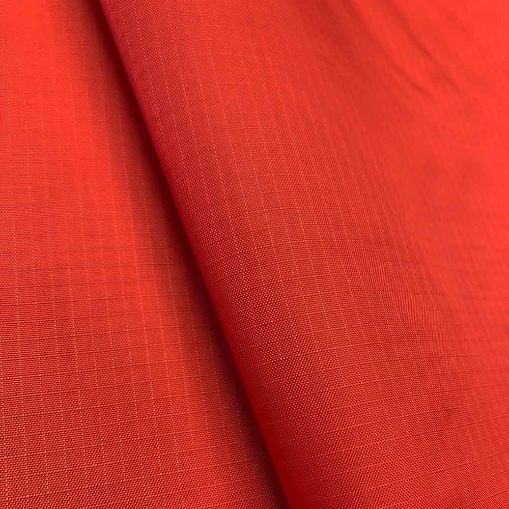 """Nylon Ripstop Fabric PU Coated 70 Denier 1.9oz 62/63"""" Wide Waterproof Tent Water Repellent Dustproof Airtight Excellent Fabric for Kites (1 YARD, Red)"""