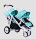 Familidoo best wheelchair twin baby double stroller for boys