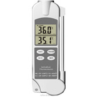 digital 2 in 1 probe and infrared bbq meat kitchen thermometer