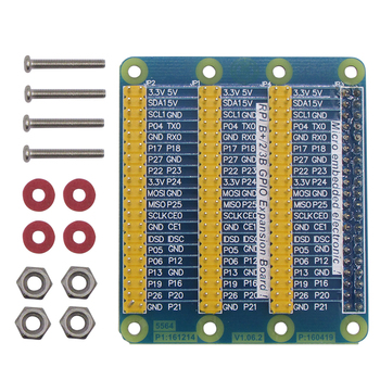 GPIO Extension Board 1 to 3 Banana Pi M3 40 Pin GPIO Module For Raspberry pi 3 Model B B+