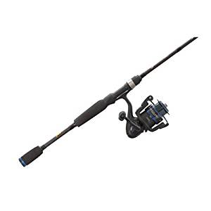 Lew's Fishing American Heroes Speed Spool Baitcast Rod and Reel Combo, 6'/Medium/175 yd./6 lb./6.2:1 by Lew's Fishing