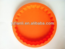 New design cake mold colorful silicone pie mould for baking