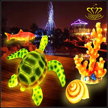 Latest chinese product Night Scene decor LED Luminous lights outdoor christmas sculptures