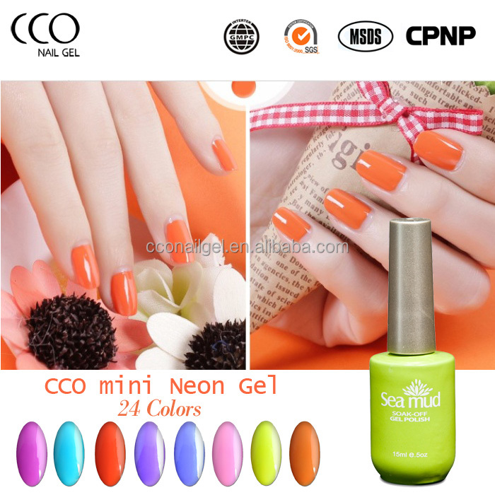 CCO station camouflage acrylic soak off uv gel neon color nail gel polish for nail art design