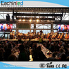 led video curtain rental display p6 portable led display screens outdoor
