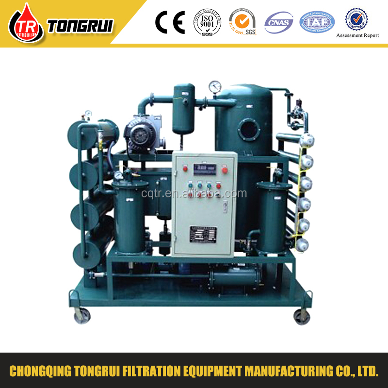 ZJA Double Stage Vacuum Transformer Oil Filtration Machine