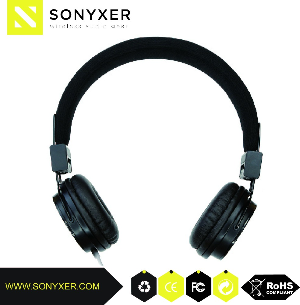 On Ear language laboratory Active Noise Cancelling Headphone