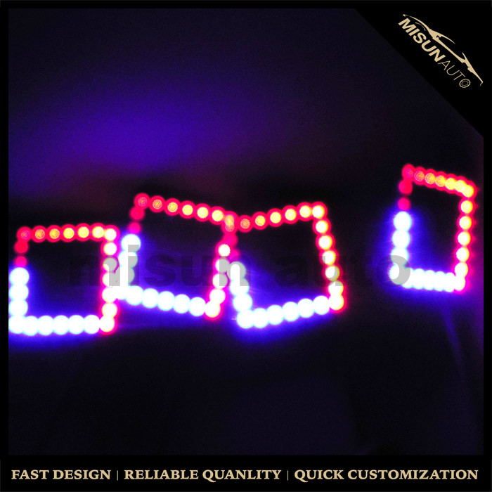Sequential Led Motorcycle Rgb Halo Accent Lighting Rings 80mm ...