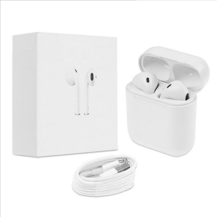 Factory direct afans wireless headset binaural neutral stereo with charging bin wireless  Earphones for iphone X