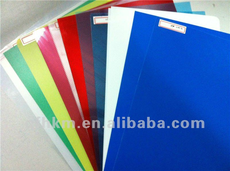 Matte/Clear/Color PP Binding Film