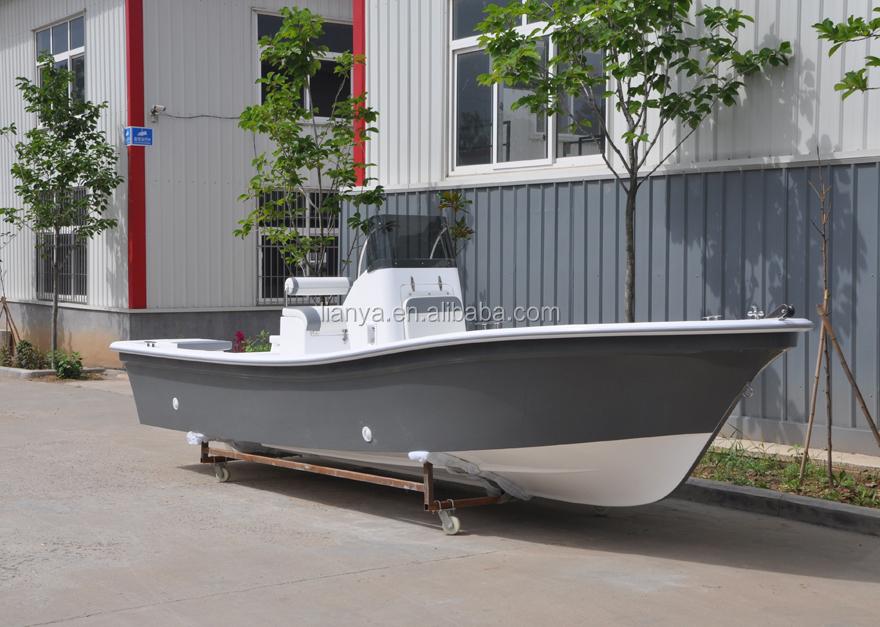 Liya 5.8m Fiberglass Commercial Fishing Boat Used Fishing Boats For Sale - Buy Used Fishing ...