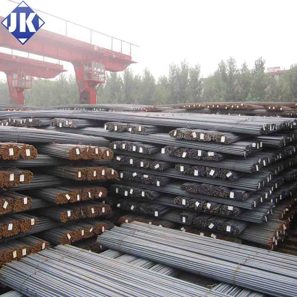 Tangshan China steel rebar, deformed steel bar, iron rods for construction/concrete/building