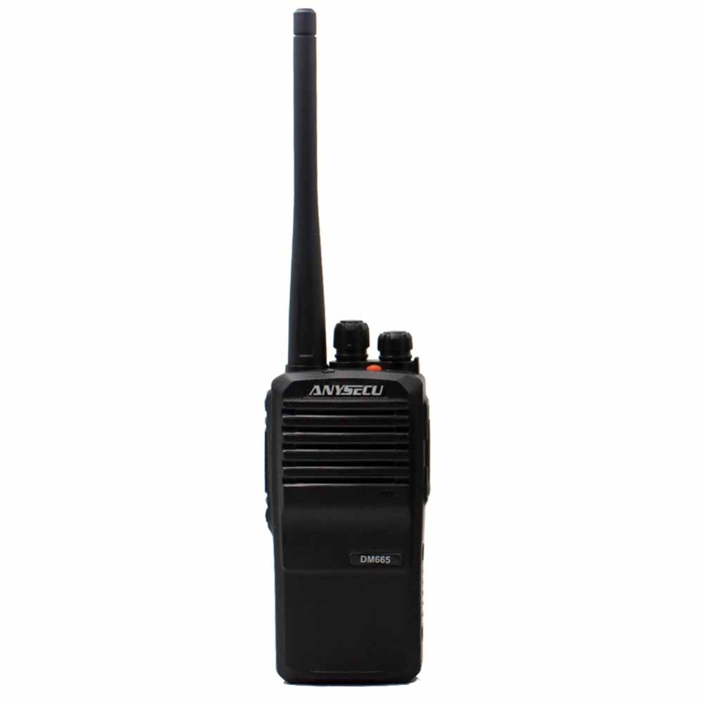 High quality Original Anysecu DM-665 Digital two way Radio set/Transceiver DMR UHF 400-470MHz
