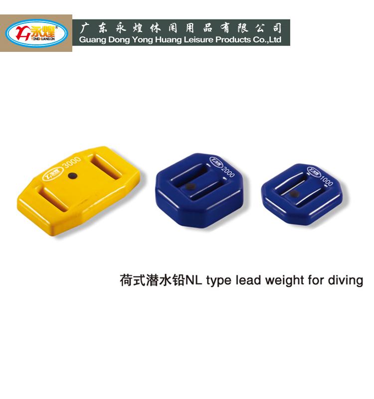 ABC & Blei Xray-Scuba Xray Scuba V-Weight 2kg schwarz beschichtet Bleigewicht V-Blei