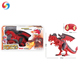 High quality Infrared control walking spray dragon with wings RC dinosaur toys with smoke spray and sound light and sound