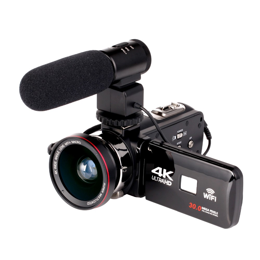 High Quality Hd Camcorder 4k Ips 3 0 Screen Professional Camera Wifi And Ir Night Vision Camcorder Buy 4k Camcorder Camcorder Video Camera Product On Alibaba Com