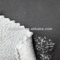 spandex pongee and polar fleece bonded fabric