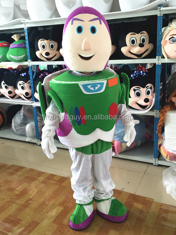cartoon movie Squeeze Toy Aliens mascot costume FGC-0023