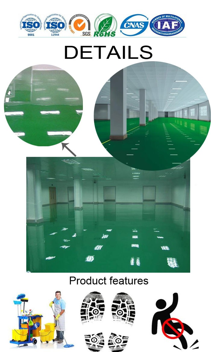 High Performance epoxy floor coating epoxy floor paint