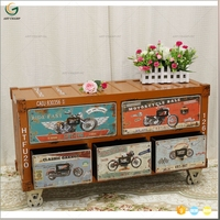 CONTAINER INDUSTRIAL FURNITURE CLASSIC TV CABINET