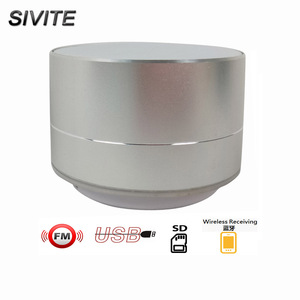 China SIVITE B10 Hot Saling MINI Rechargeable Wireless receiving handsfree car Portable Colorful Metal Speaker Boombox