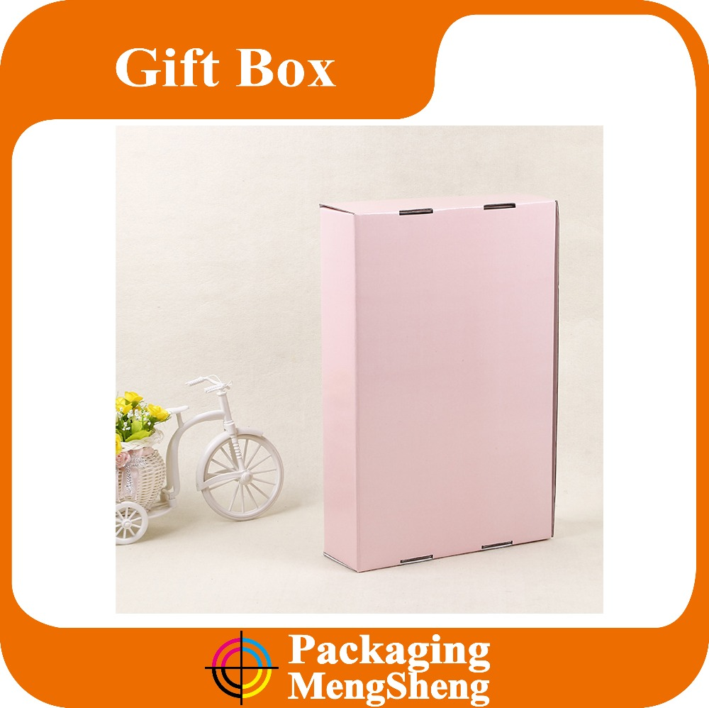 Common Black simple paper postal box flute corrugated postage carton mailing box