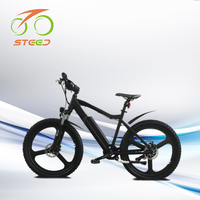 CE 250w 36v mountain stealth bomber design electric bicycle from china 26 inch
