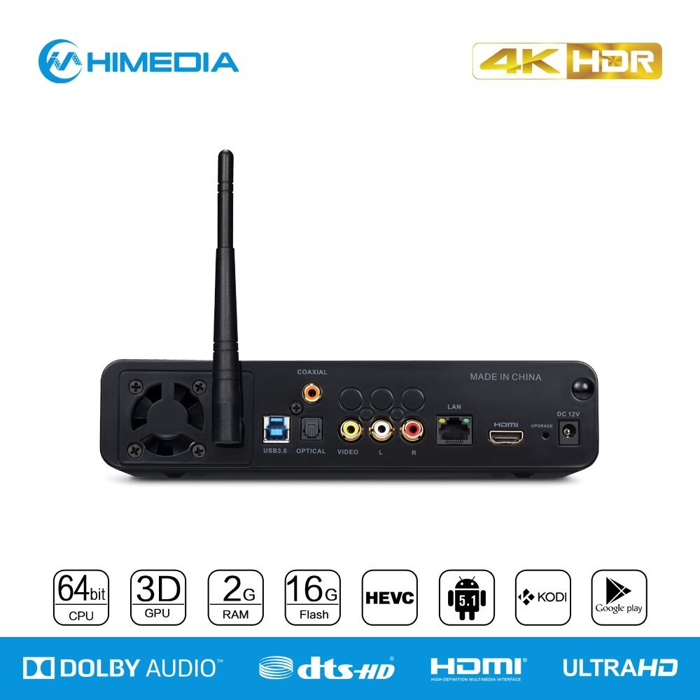 Himedia Q10 Pro Wholesale Android5.1 Video Player From China ...
