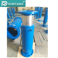 Corrugated equipment single fabric layer hydraulic bellows compensator