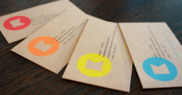 Custom recycled paper business card with HD printing