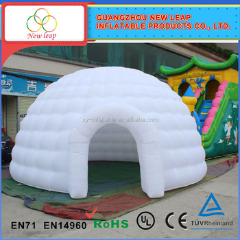 White inflatable igloo dome tent sphere giant inflatable balloon tents & White Inflatable Igloo Dome TentSphere Giant Inflatable Balloon ...