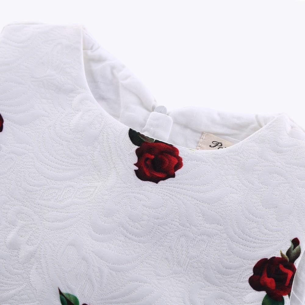886dc4226597 2015 New Spring Summer Girl Dress Floral Pattern Girl Dress Short A ...