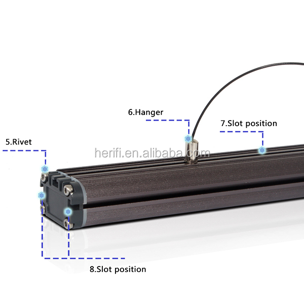 Hot sale 120cm beamswork Led Aquarium Light for Saltwater and Freshwater aquarium