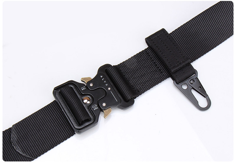 Hot Sale Customized Logo Metal Buckle Army Nylon Military Belt