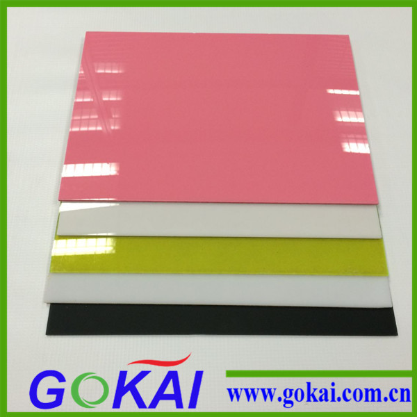 White Color High Hard ABS Sheet for Vacuum Forming