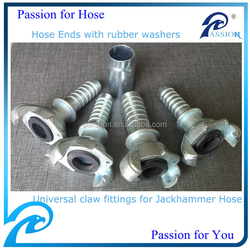 id 34 inch rubber compressor air hose coupling
