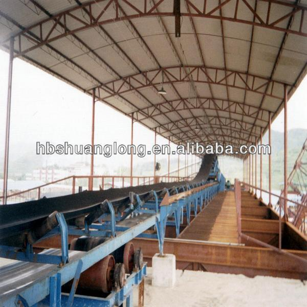 natural rubber conveyor belt used for PORTS