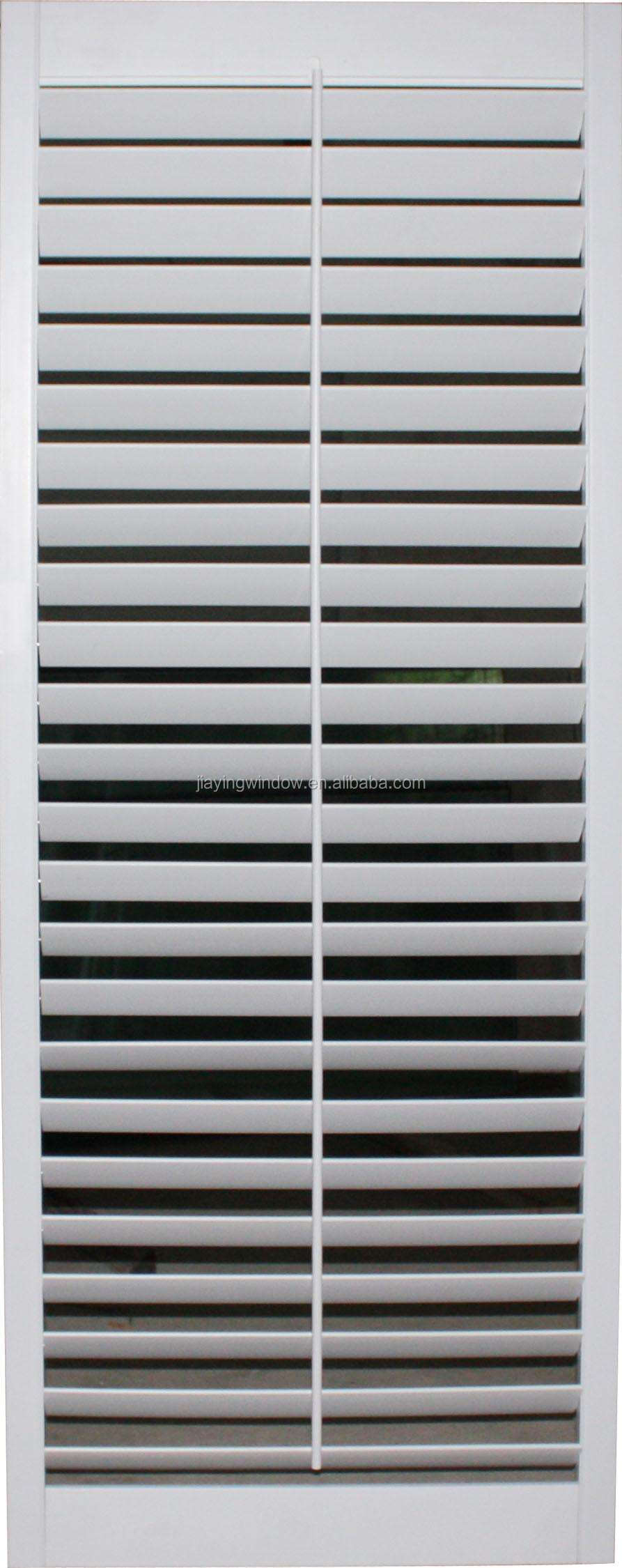 Wind Resistance Wooden Color Fireproof Window Shutters With Good Air Tight Buy Aluminum Window With Shutter Aluminum Window With Shutter Aluminum
