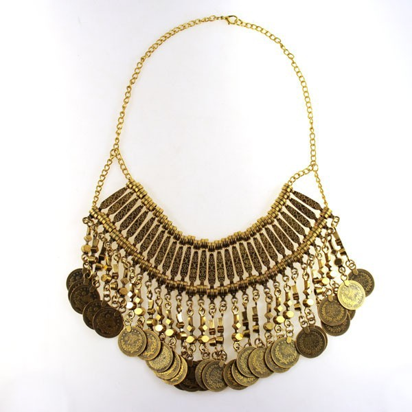 New design hot sell zamac necklace heavy vintage silver zamac jewelry hot zamac