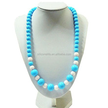 BPA Free Latest Design Silicone Chew Beads Necklace