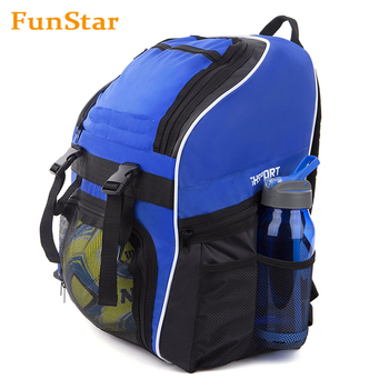 Soccer Backpack Youth Kids Sports Team Bag Gym Tote Soccer Futbol Basketball Football Volleyball
