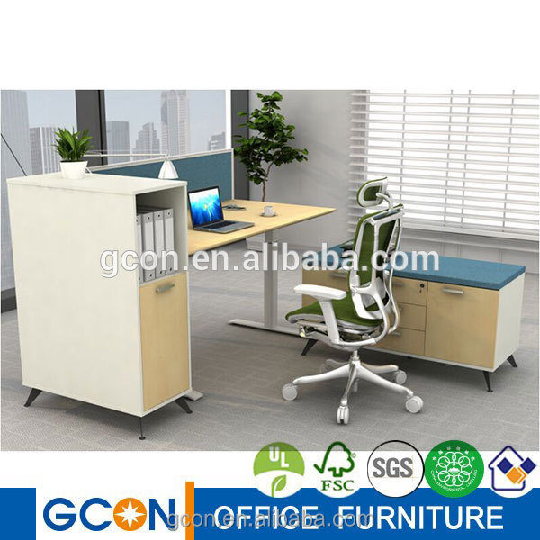 Electric motorized office height adjustable table