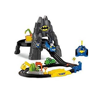 Fisher-Price GeoTrax DC Super Friends - The Batcave RC Set