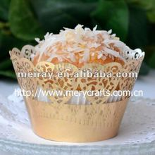"wedding decoration ""lace heart"" cupcake wrappers from Mery Crafts"