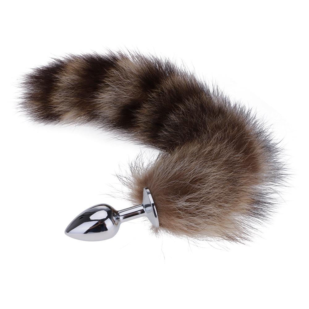 Tail butt plug bdsm butt plug dildo deer tail plug fox tail