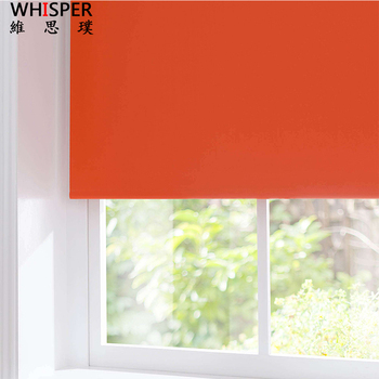 Cordless mini motorized outdoor roller blinds