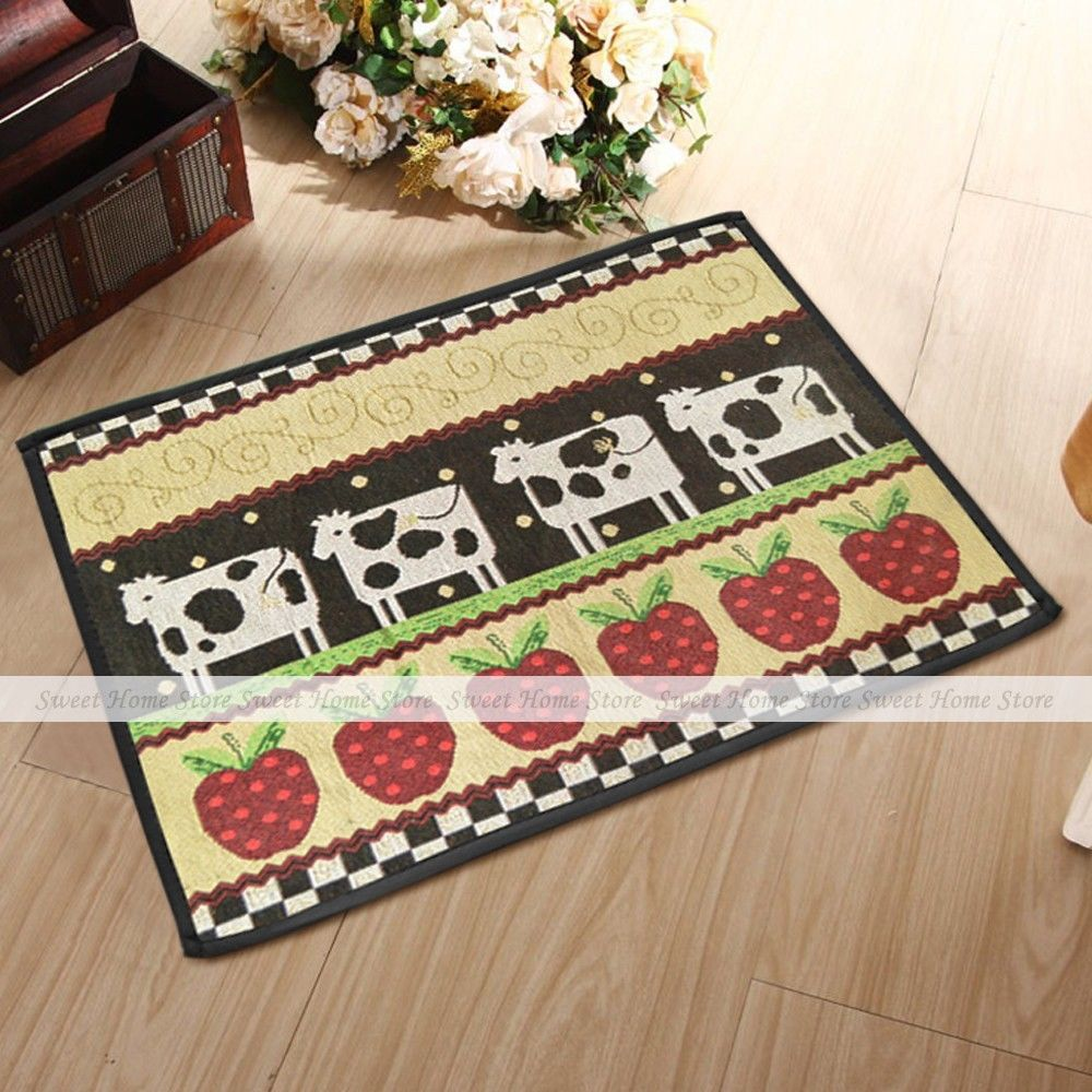 Country Kitchen Rugs: Popular Apple Kitchen Rugs-Buy Cheap Apple Kitchen Rugs