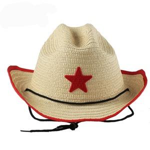 4e349b2ea Kids Star Western Straw Cowboy Hats