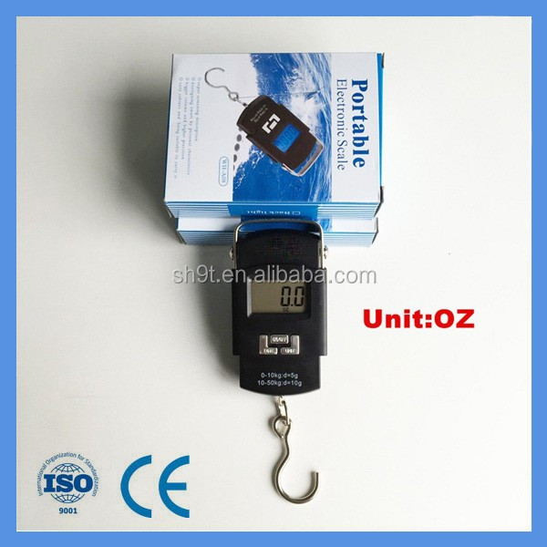 Higher Precision factory small industries machines luggage scale with bigger LCD screen